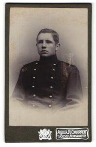 Fotografie Atelier De Concurrent, 's Bosch, Portrait junger Soldat in Uniform