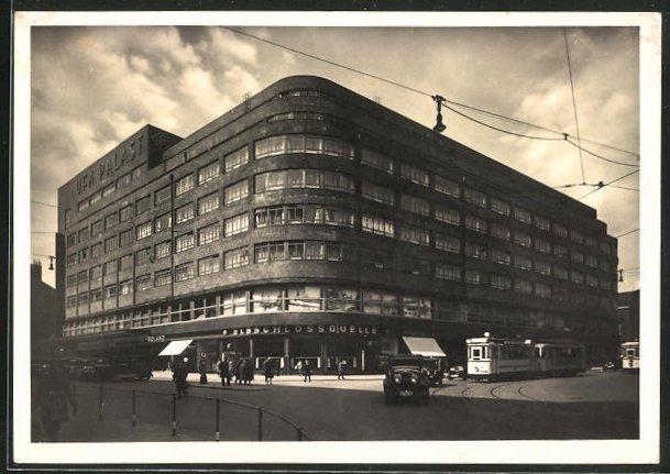 AK Hamburg, Deutschlandhaus im Bauhaus-Stil