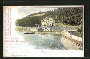 AK Altena, Gasthaus an der Füelbecker Talsperre