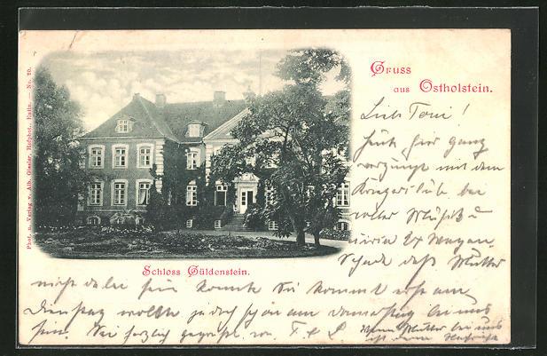 AK Harmsdorf, Ansicht von Schloss Güldenstein