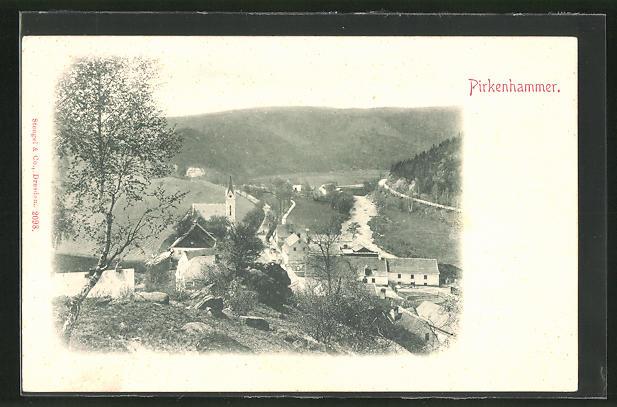 AK Pirkenhammer, Ortsansicht