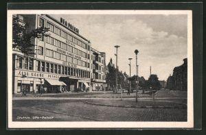 AK Stettin, Partie am Ufa-Palast