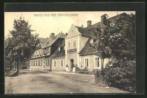 AK Breitenbach, Am Gasthaus Dreckschänke