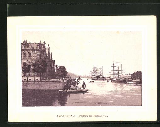 Kaufmannsbild Amsterdam, Magazijn Van Comestibles, de Jong, Prins Hendrikkade