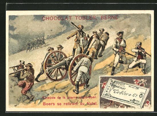 Sammelbild Berne, Tobler Chocolat & Kakao, Episode de la guerre anglo-boer