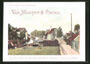 Sammelbild Van Houten's Cacao, Partie in Zaandam