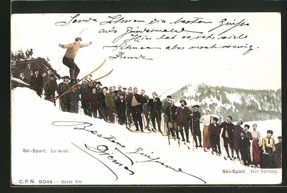 AK Ski-Sport, Le saut, Skisprung