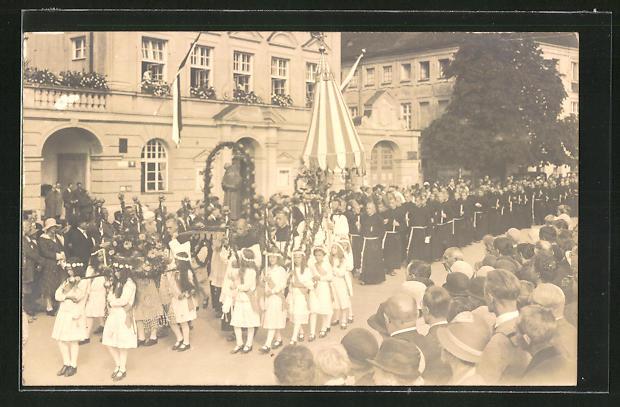 AK Altötting, Seligsprechungsfeier zu Ehren des seligen Bruders Konrad von Altötting