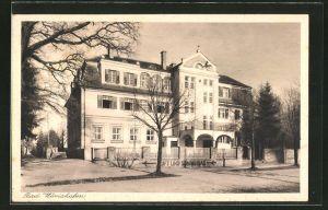 AK Bad Wörishofen, Ansicht vom Hotel Eichwald