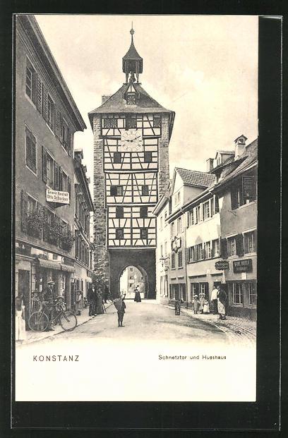 AK Konstanz, Schnetztor und Husshaus