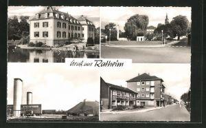 AK Ratheim, vier Motive aus dem Ort