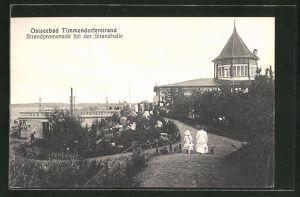 AK Timmendorferstrand, Strandpromenade an der Strandhalle