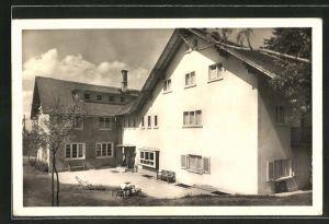 AK Neusatz, Ansicht vom Kurhotel Eichenkreuzheim