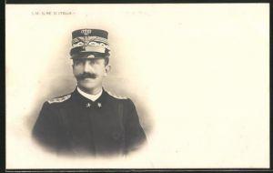AK Portrait S.M. Il Re d'Italia in Uniform
