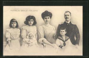 AK Famiglia Reale Italiana
