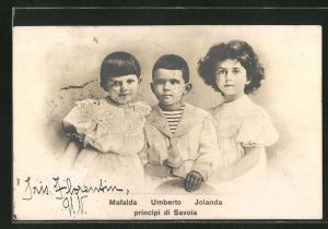 AK Principi di Savoia: Mafalda, Umberto & Jolanda