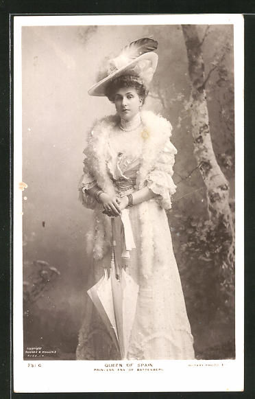 AK Königin von Spanien, Prinzessin Ena von Battenberg