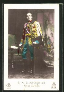 AK König Alfons XIII. von Spanien, Alfonso XIII Rey de Espana