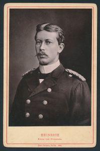 Fotografie Paul Belkner, Berlin, Portrait Prinz Heinrich von Preussen in Uniform
