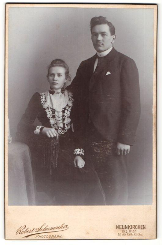 Fotografie Robert Schumacher, Neunkirchen, Portrait junges bürgerliches Paar