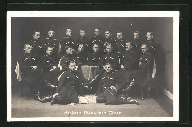 AK Kuban Kosaken Chor, Gruppenbild in traditionellen Kostümen