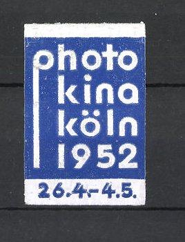 Reklamemarke Köln, Ausstellung Photokina 1952