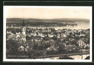 AK Emmishofen, Ortsansicht mit Kreuzlingen