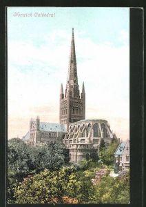 AK Norwich, An der Kathedrale