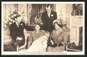 AK the King and Queen with Princess Elizabeth and the Duke and the Infant Prince Charles