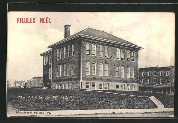 AK Perkasie, PA, New Public School, High School