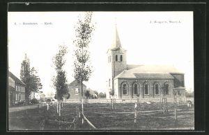 AK Roosteren, Blick zur Kirche