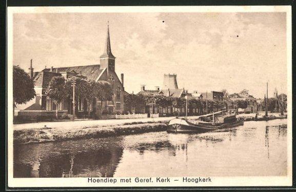 Bild zu AK Hoogkerk, Hoen...