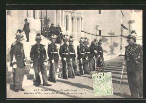 AK Monaco, Carabiniers Gardes d'honneur du Prince, Grande tenue
