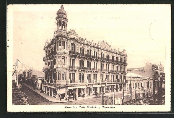 AK Rosario, Calle Cordoba y Corrientes