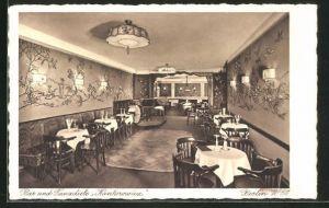 AK Berlin-Schöneberg, Restaurant-Bar und Tanzdiele