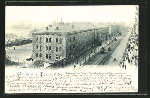 AK Berlin, Kaserne des Garde-Füs.-Regiments-Chausseestrasse