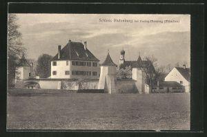 AK München-Obermenzing, Schloss Blutenburg