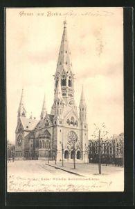 AK Berlin-Charlottenburg, Kaiser Wilhelm Gedächtniss-Kirche