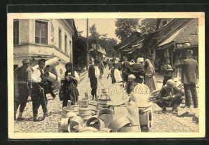 AK Sarajewo, Na trgu, Marktszene