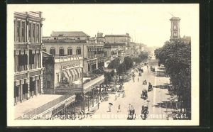 AK Calcutta, Dalhousie Square and old Court House Street