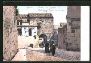 AK Toledo, Pueria de Alfonso VI., Subida al Cristo de la luz