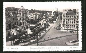 AK Santander, Sardinero, Gran Casino y Plaza de Italia