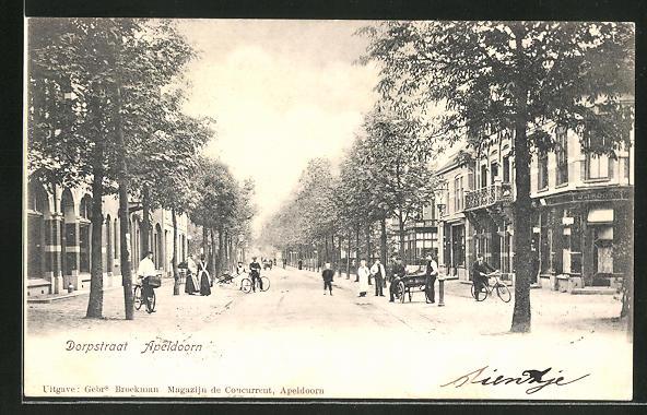 AK Apeldoorn, Dorpstraat, Strassenpartie 0