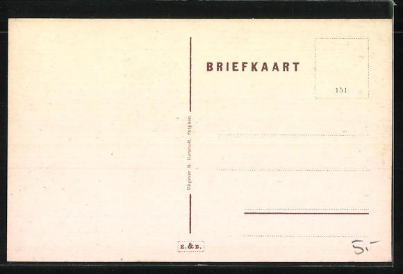 AK Zutphen, Deventerweg, Strassenpartie 1
