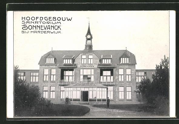 AK Harderwijk, Hoofdgebouw Sanatorium Sonnevanck 0
