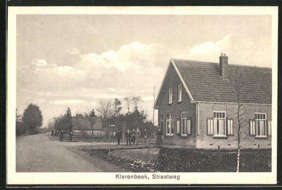 AK Klarenbeek, Straatweg, Ortspartie 0