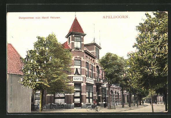 AK Apeldoorn, Dorpsstraat met Hotel Veluwe 0