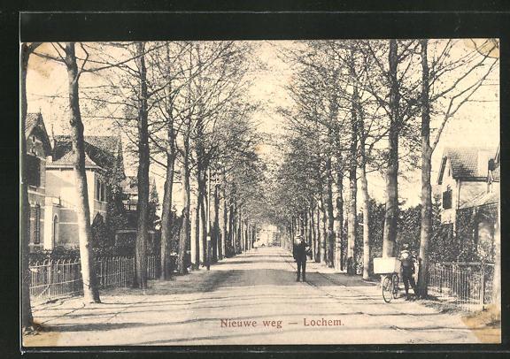 AK Lochem, Nieuwe weg, Strassenpartie 0