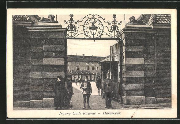 AK Harderwijk, Ingang Oude Kazerne 0