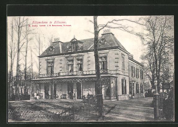 AK Ellecom, Grosses Anwesen mit Toreinfahrt 0